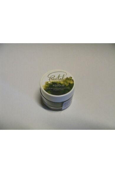 Ételfesték porfesték FRACTAL Fűzöld  10 ml 1,5 gr