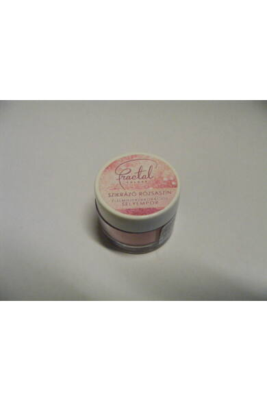 Selyempor lüszter FRACTAL Szikrázó Rózsaszín 3,5 g