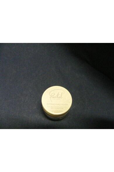 Selyempor lüszter FRACTAL Gyöngyház fehér 3,5 g