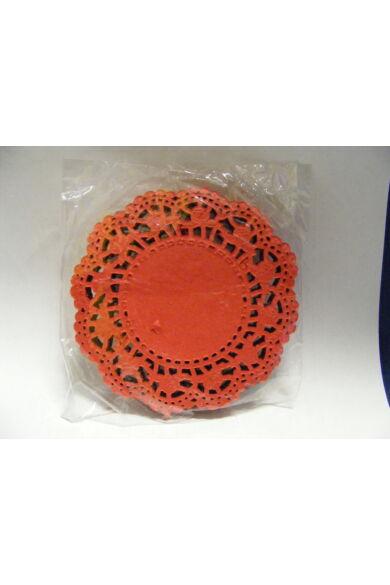 Kerek csipke 10cm dekor szines 100db/cs 501881