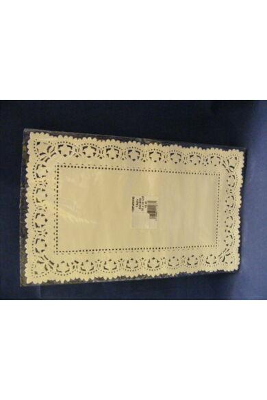 Téglacsipke 18x30 cm fehér kiskiszerelés 12 db/cs