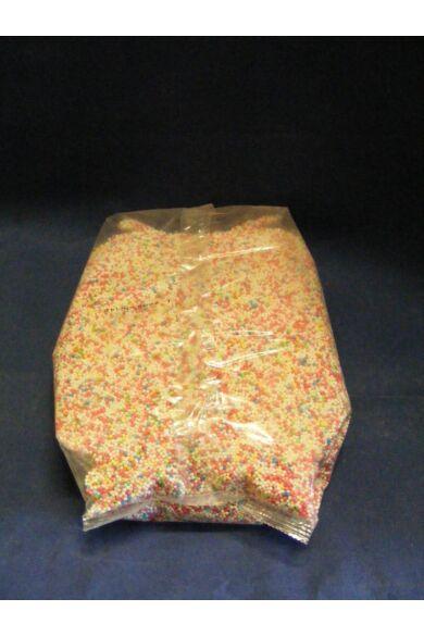 Díszítőcukor      szines      nonpareil M-GEL vegyesszínű  1,0 kg  fagyiszóró cukor
