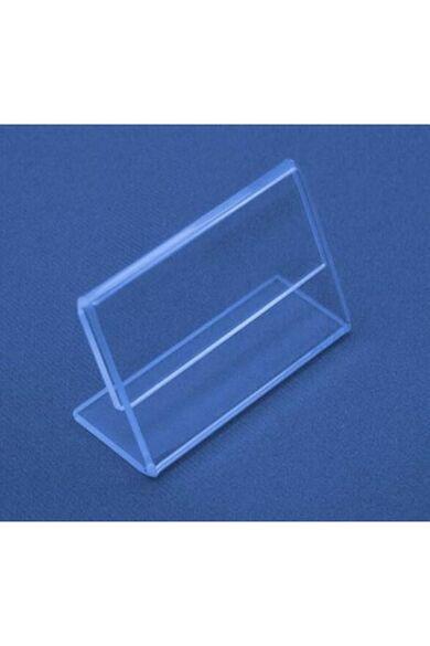 Árjelző 6 x 10 cm plexi 10 db/cs