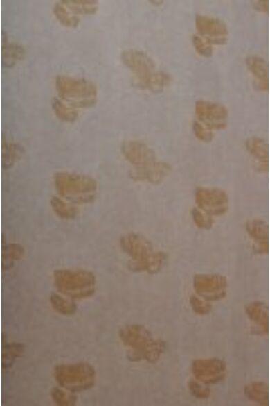 Fehér finom csomagoló ív ARANY minta 1 színű          10 KG/ CS    60x80 cm
