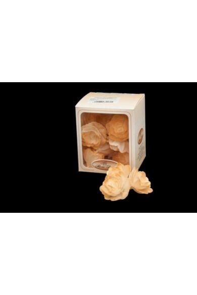 Ostyavirág közepes  ARANY rózsa  18 db/dob