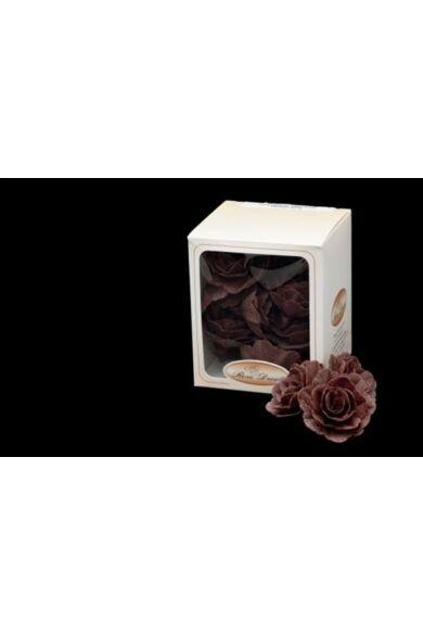 Ostyavirág közepes  BARNA rózsa  18 db/dob