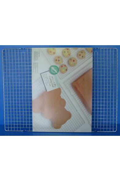 Gitter rács téglalap alakú 40,0 x 25,0 cm   négyzethálós