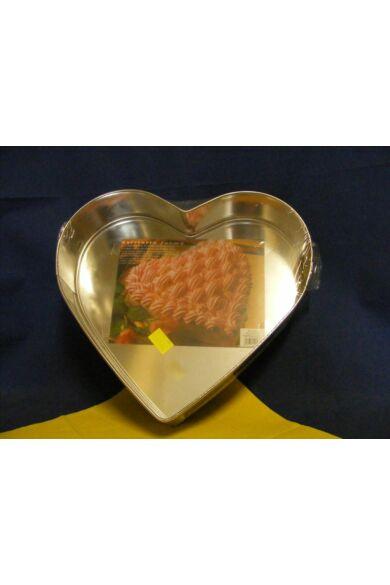 Tortasütő forma       Szív alakú nagy   CSATOS
