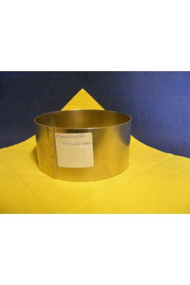 Tortakarika      120x60mm      fém