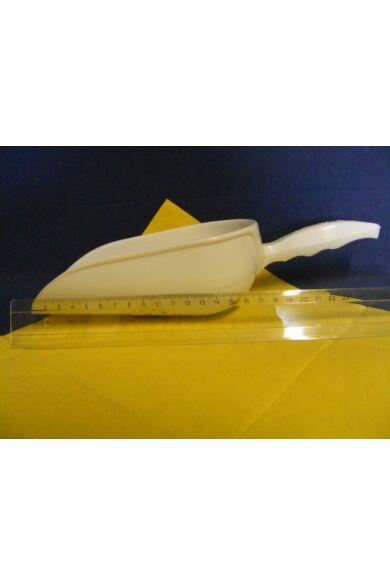 Műanyag lisztlapát   1/2 kg  29cm 30029