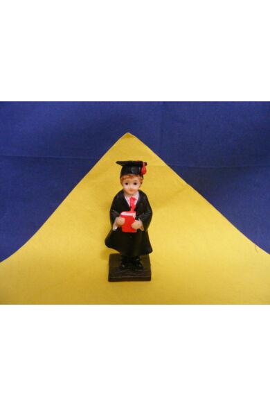 Ballagó figura diák /diáklány  9,5 cm