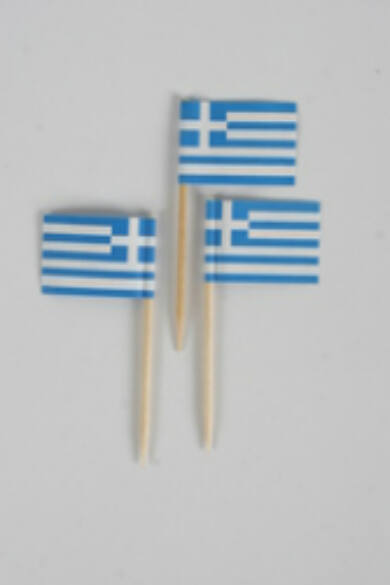 Zászló pálcika 144db/dob görög