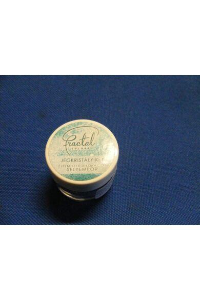 Selyempor lüszter FRACTAL Jégkristály Kék 3,0 g