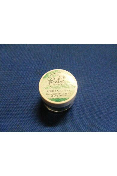 Selyempor lüszter FRACTAL Zöld Sarkifény 2,0 g