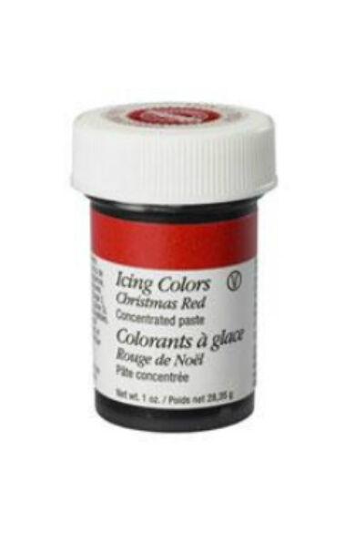 Wilton icing color  ételfesték paszta Karácsonypiros 28,35 gr./flakon